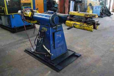Used 2500 Lb Double Uncoiler 15-20 In Coil ID