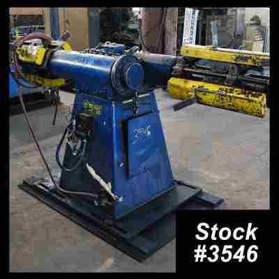 Used 2500 Lb Double Uncoiler