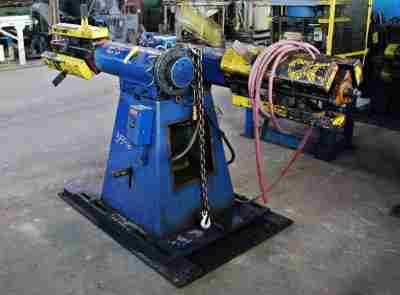 Used 2500 Lb Double Uncoiler 60 In Coil OD