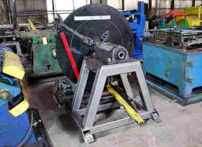 Used SHEET METAL AUTOMATION Single Uncoiler