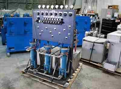 Tube Spray Coating System