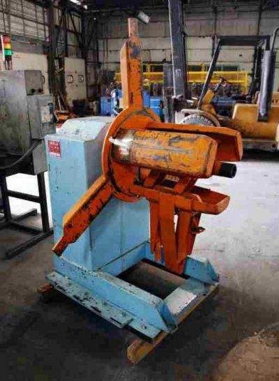 Used Single Uncoiler 18 Inch Width
