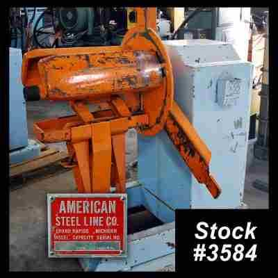 Used Single Uncoiler