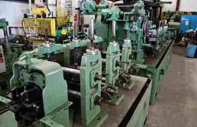 YODER M2 ERW TUBE MILL SIZING MILL