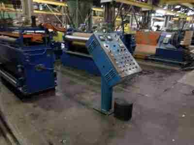 Used Slitting Line Control Console