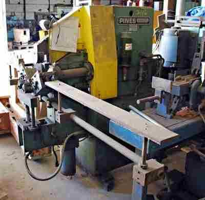 pines tube bender 1800 tubes per hour