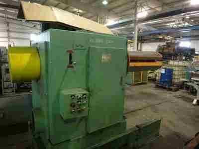 10000 lb Single Uncoiler American Steel Line