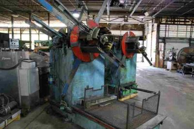 Used 5000 Lb Double Uncoiler