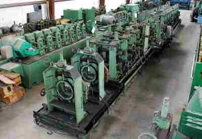 8 Inch High Frequency Tube Mill Line