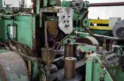 High Frequency Tube Mill Welding Section