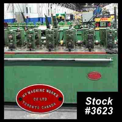 10 Stand Rollforming Line