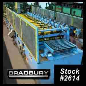 14 Stand Bradbury Roll Former
