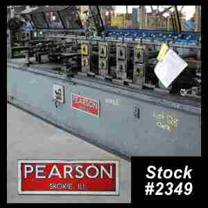 Used Pearson Rollformer 2349