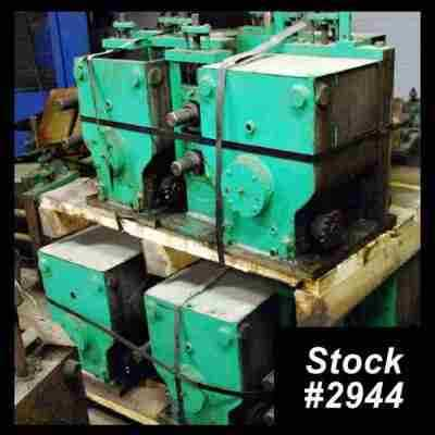 Used Rollformer Gearboxes and Outboards