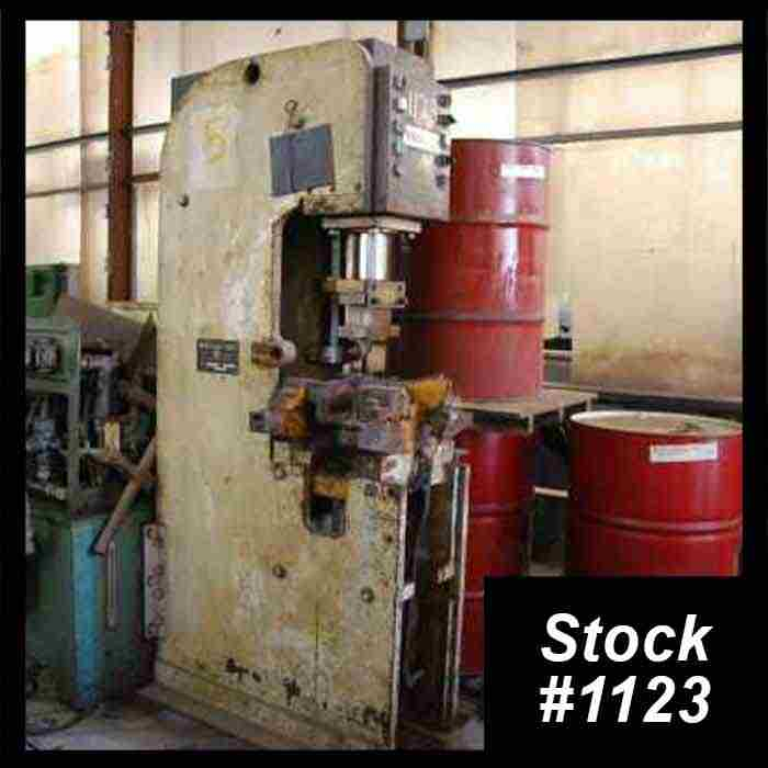 Used Hydraulic Press Bender For Sale ➔ Hydraulic Tank, Motor