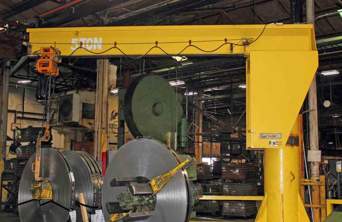 Tube Mill Jib Crane