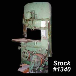 Used Vertical Band Saw