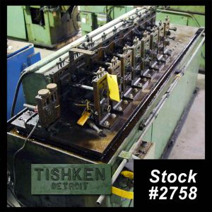 10 Stand Tishken Roll Former For Sale