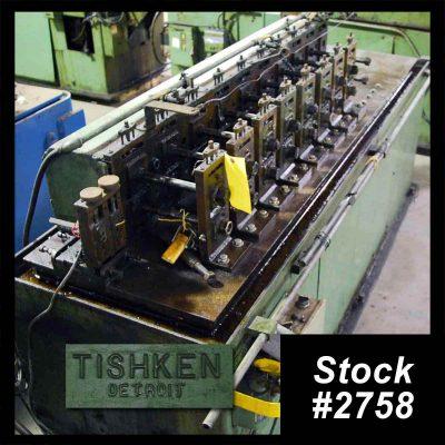 10 Stand Tishken Roll Former For Sale