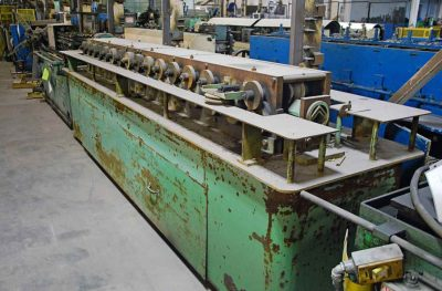 16 Stand Triplex Rollformer V-Angle Tooling