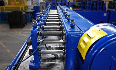 8 Inch Roll Space HMW Tishken Rollformer