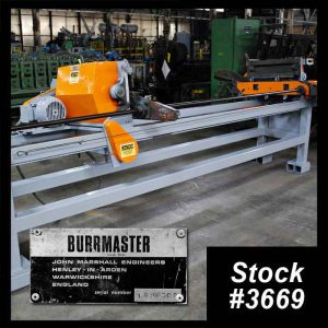 Burrmaster 1 Tube Deburrer