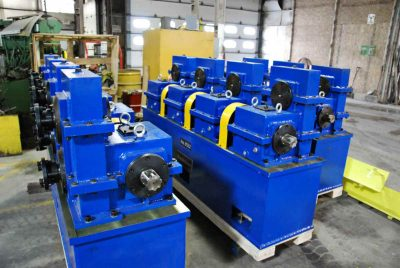 New Tube Mill USA Gearboxes Drive System