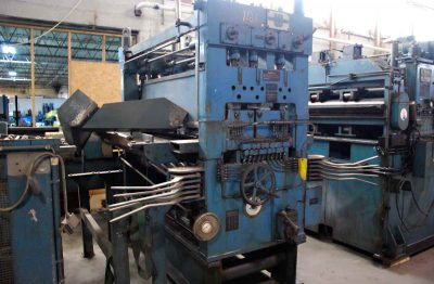 Precision Leveler Front For Cut To Length Line
