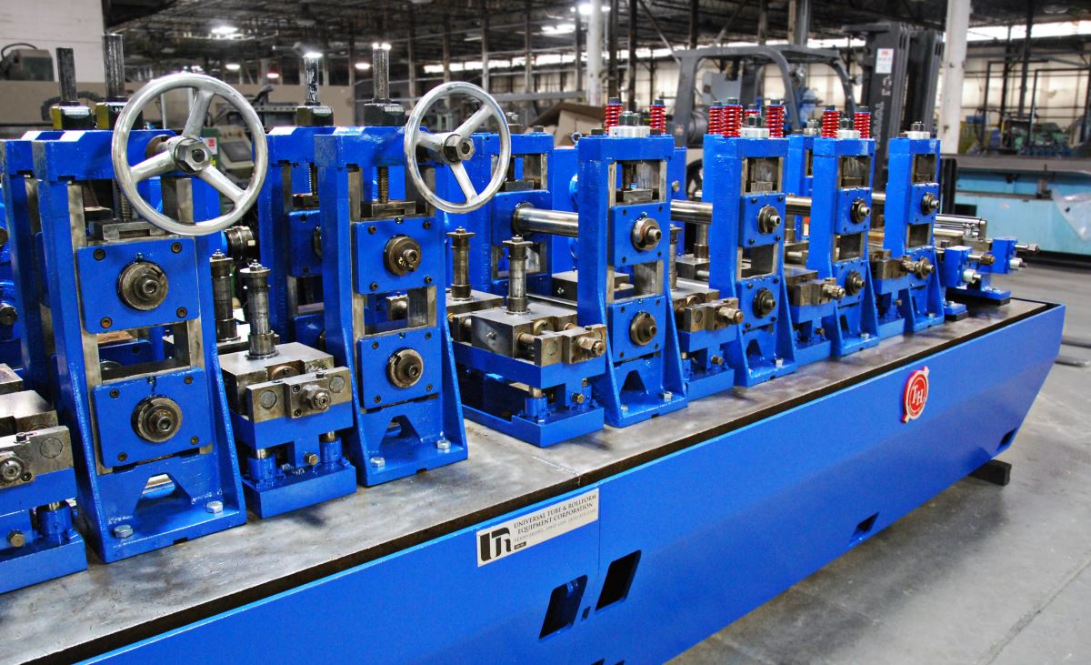Stainless Steel Tubing Mill For Sale ➔ T&H Tube Mill Line