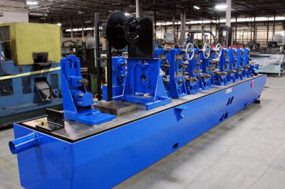 Stainless Steel Tubing Mill Sizing