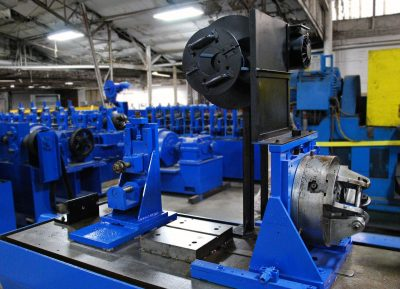 Stainless Steel Tubing Mill Welding Section