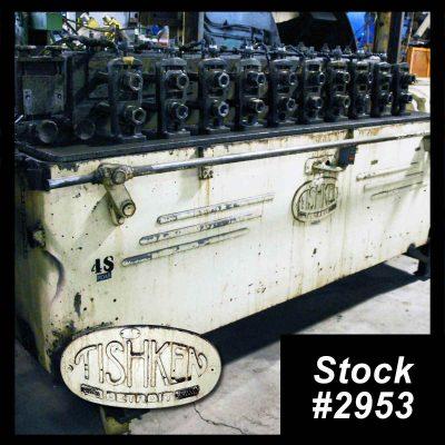 Tishken Rollformer For Sale