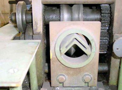 Triplex Rollformer V-Angle Tooling