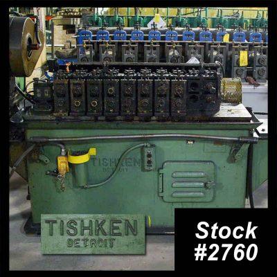 Used Tishken Roll former