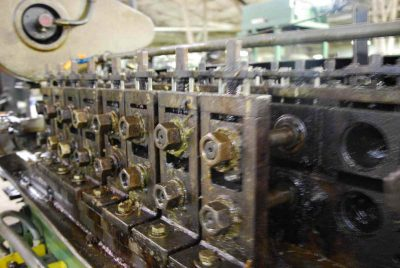 Used Tishken Rollformer Outboard Stands
