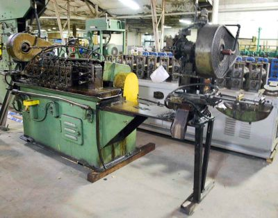 Used Tishken Rollformer and 5 Ton Press Punch