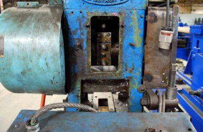 18 Ton Tilting Cut-Off Die Opening