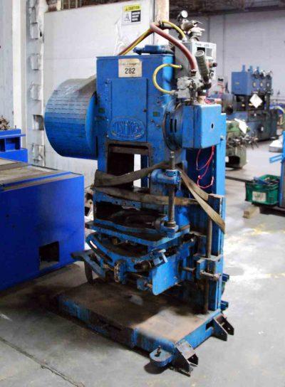25 Ton Tishken Tilting Cut-Off Press