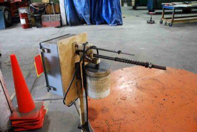 5000Lb Pallet Type Uncoiler 52 Inch Coil Diameter