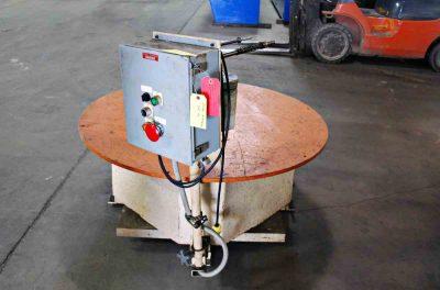 5000Lb Pallet Type Uncoiler Controls