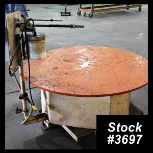5000Lb Pallet Type Uncoiler For Sale