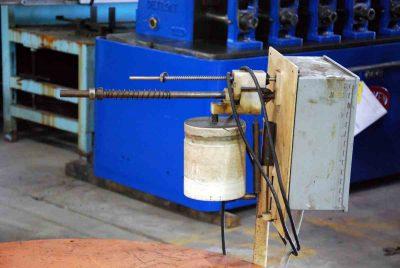5000Lb Pallet Type Uncoiler Reverse Rotation
