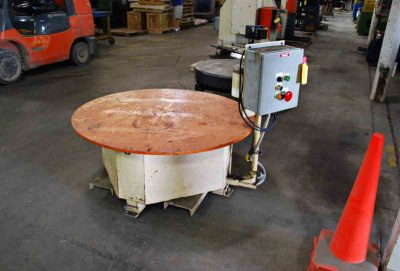 5000Lb Pallet Type Uncoiler Speed Control