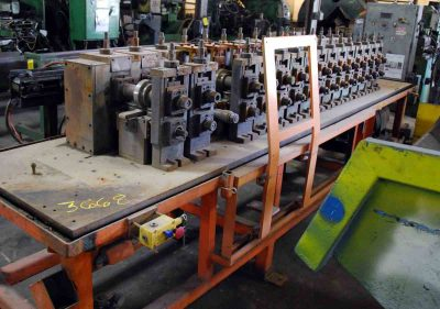 Used Ardcor Roll Former 15 Stand