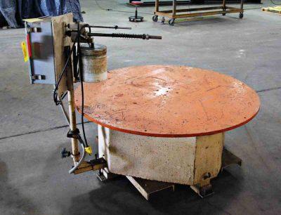 Intec 5000Lb Pallet Type Uncoiler