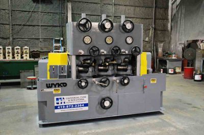 Used 2.3″ WYKO WS-4PS 6-Roll tube Straightener