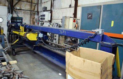 10 ft Loopco Dedimpler Machine