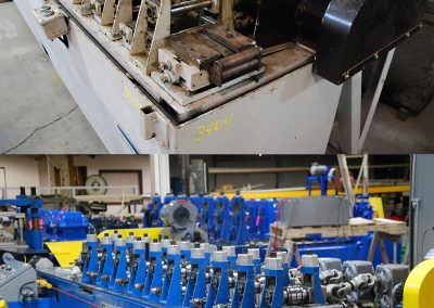 T&H Tube Mill Reconditioning and Test Run