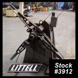 2000 lb Motorized Single Uncoiler