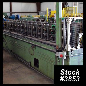 16 Stand Tishken 16MW2 Rollformer 3853